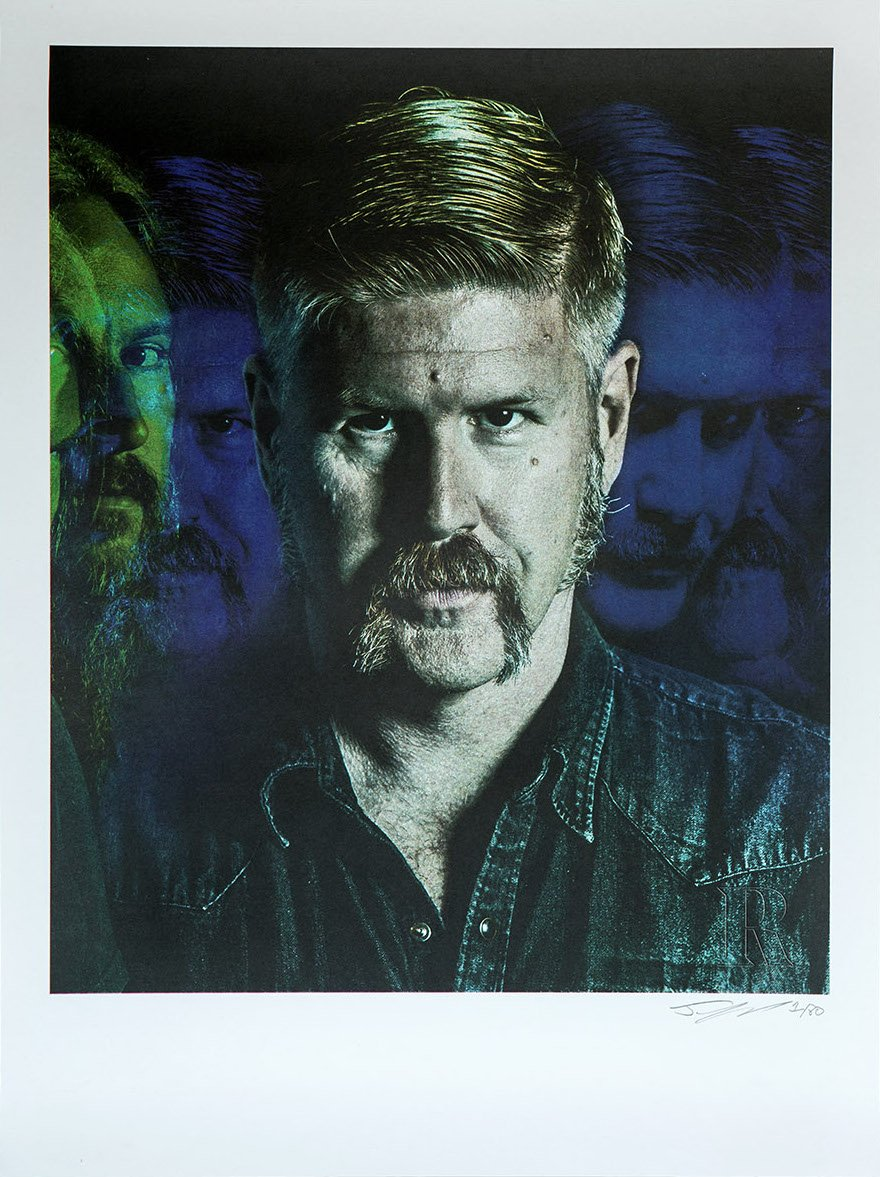 Collector's Edition 18 x 24 Mastodon Print – Bill Kelliher