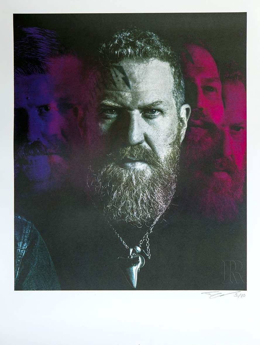 Collector's Edition 18 x 24 Mastodon Print – Brent Hinds