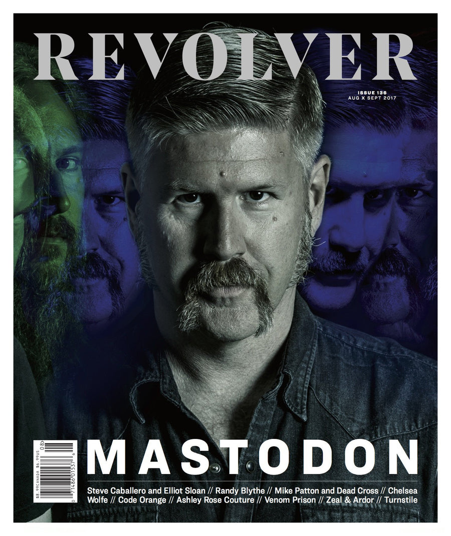 Revolver - Limited Edition Relaunch Issue - Bill Kelliher Cover