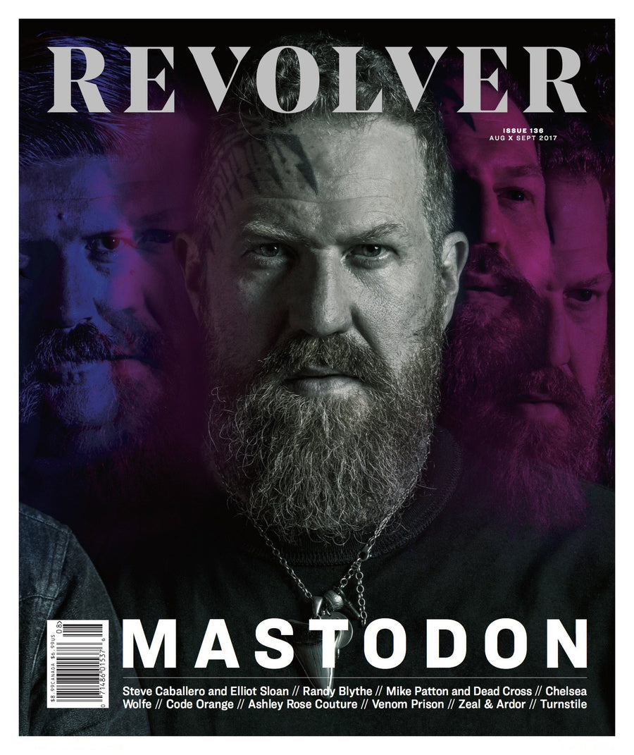 Revolver - Limited Edition Relaunch Issue - Brent Hinds Cover