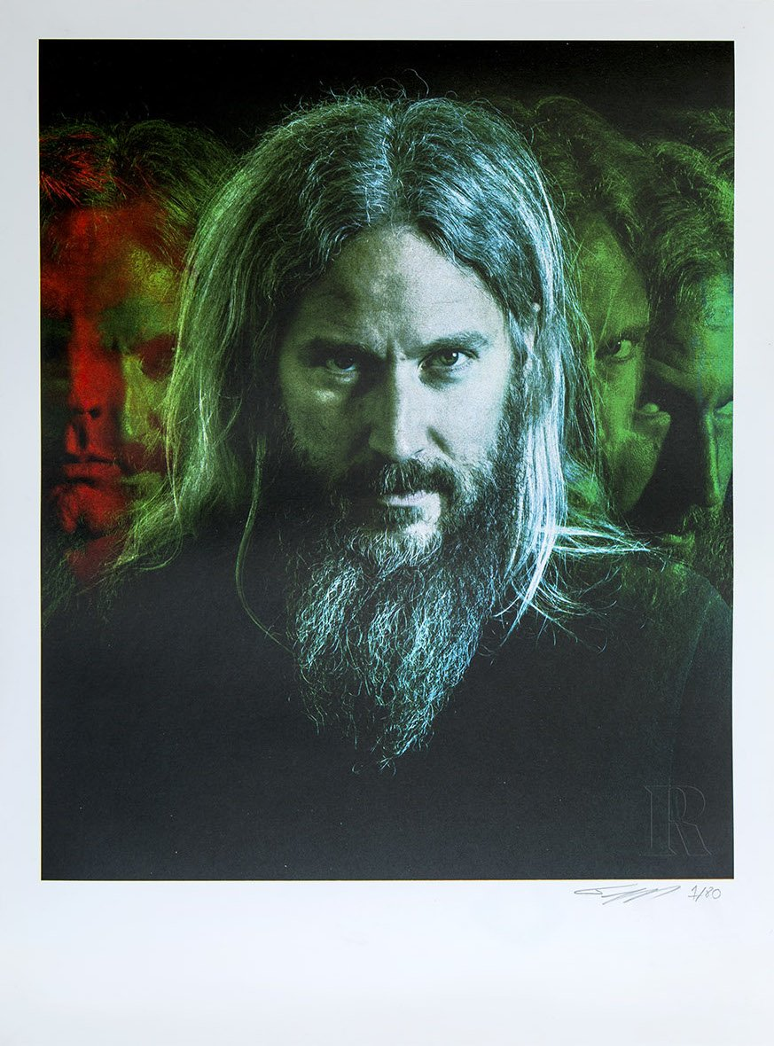 Collector's Edition 18 x 24 Mastodon Print – Troy Sanders