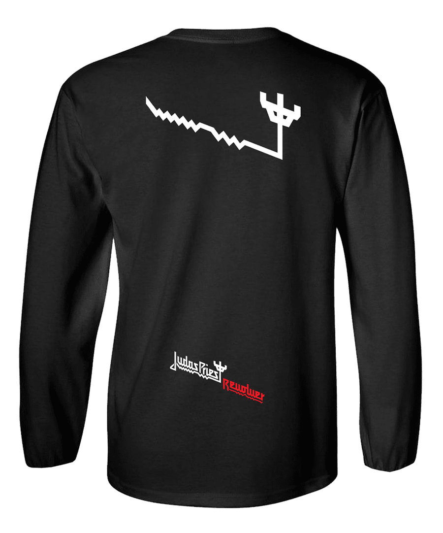 Judas Priest X Revolver Collaboration Long Sleeve T
