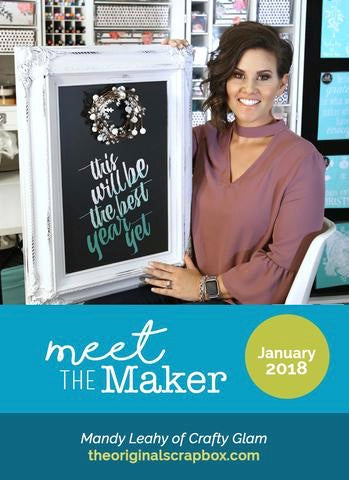 Meet The Maker: Mandy Leahy of Crafty Glam