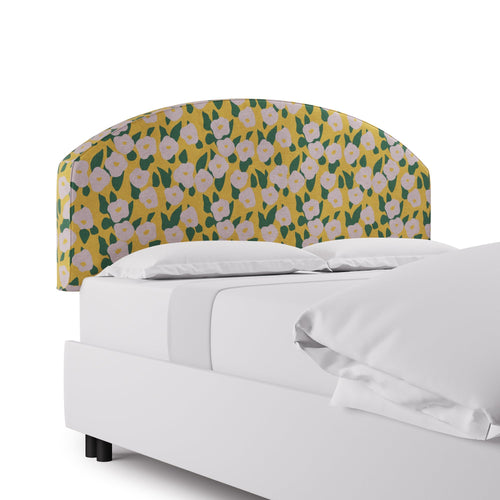 Demilune Headboard -  Yellow Belle Du Jour By Clare