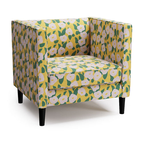 Tuxedo Chair -  Yellow Belle Du Jour By Clare