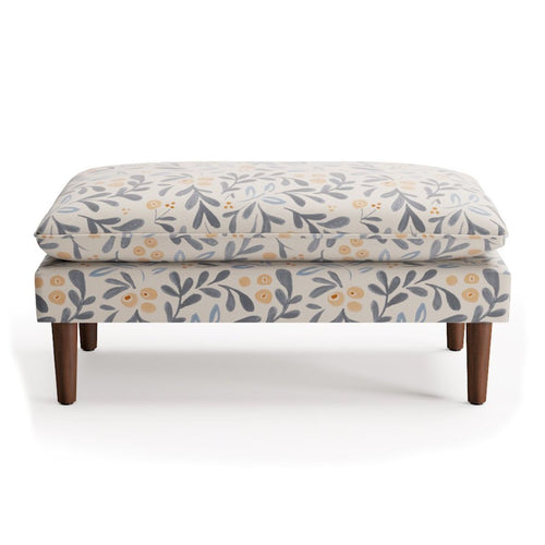 Pillow Top Bench -  Budding Floral By Maisonette