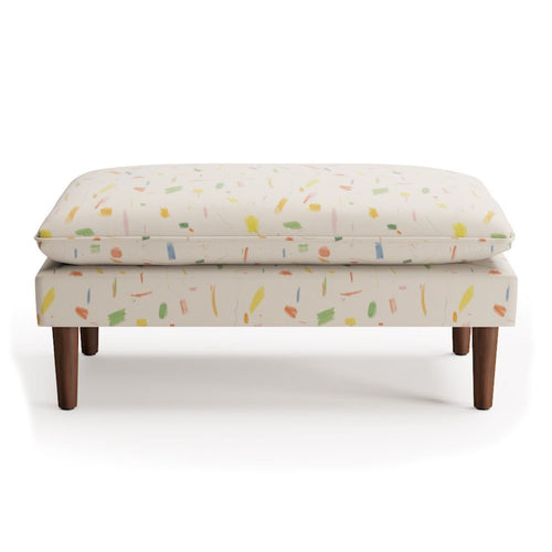 Pillow Top Bench -  Doodle By Maisonette