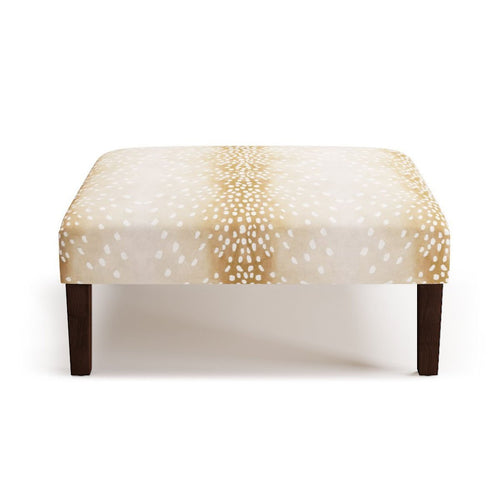 Cocktail Ottoman -  Fawn
