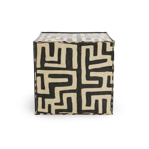 Square Pouf -  Ink Kuba