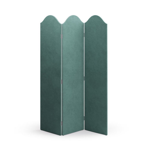 Scalloped Screen -  Aqua Velvet