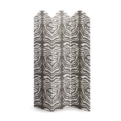 Scalloped Screen -  Zebra