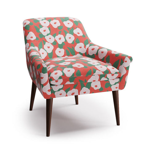 Cocktail Chair -  Red Belle Du Jour By Clare
