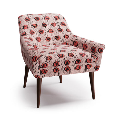Cocktail Chair -  Red Lotus By Clare