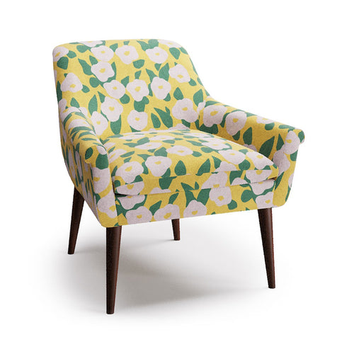 Cocktail Chair -  Yellow Belle Du Jour By Clare