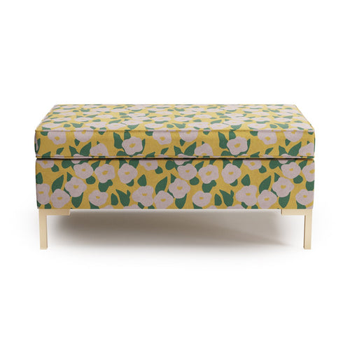 Modern Bench -  Yellow Belle Du Jour By Clare