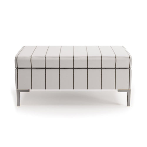 Modern Bench -  Stripe In Ink By The Everygirl