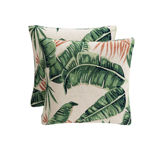 Throw Pillow -  Banana Palm