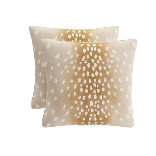 Throw Pillow -  Fawn
