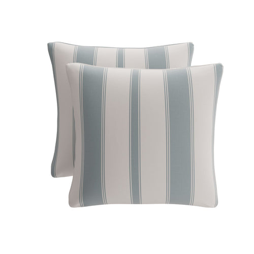 Throw Pillow -  French Blue Clarence Stripe
