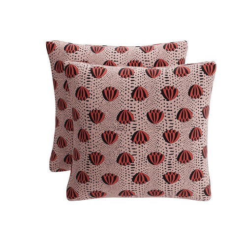 Throw Pillow -  Red Lotus By Clare