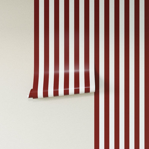 Removable Wallpaper -  Port Cabana Stripe Wallpaper