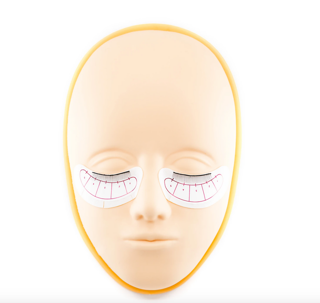 EYELASH EXTENSION MAPS