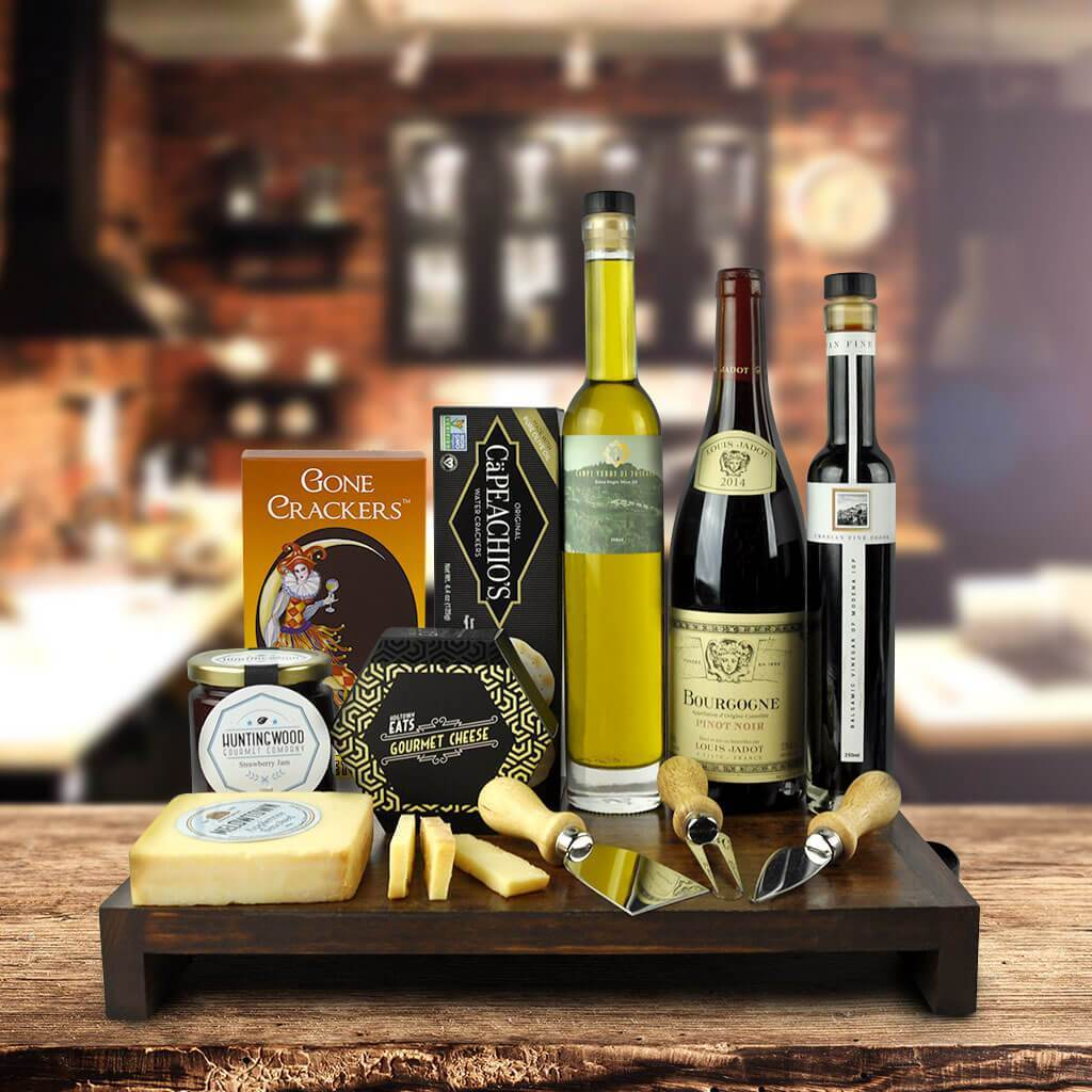 Muskoka Wine & Cheese Board