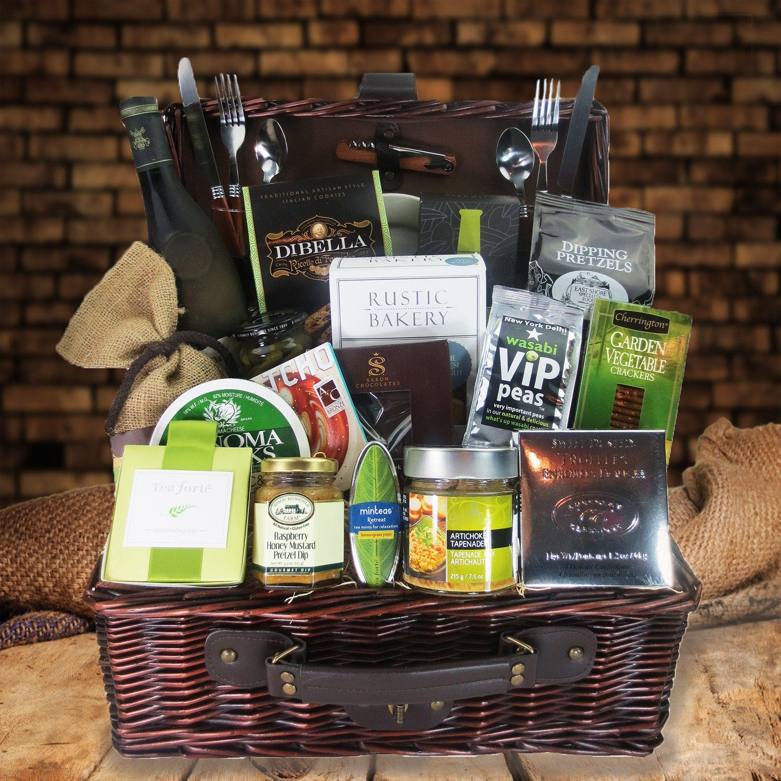 Build your own custom wine gift basket hazeltons usa custom wine gift basket negle Images