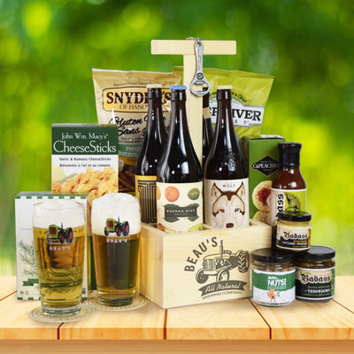 Beau's Country Beer Gift Basket