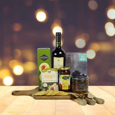 Purim & Wine Gift Basket
