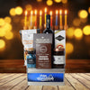 Happy Hanukkah Wine & Treats Gift Basket