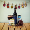 Kosher Wine & Cheese Basket