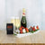 Champagne & Deluxe Chocolate Dipped Strawberries Boat
