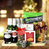 Christmas Beer & Snacks Gift Basket