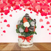Chocolate Dipped Strawberries in Vase