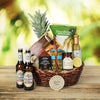 Beer & Savory Snacks Gift Basket