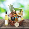 READY FOR A PICNIC GIFT BASKET WITH WINE