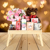 Breakfast in Bed Valentine's Day Gift Basket