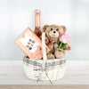 Bear & Bubbly Valentine's Gift Basket