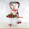 Romance in Paris Gift Basket, wine gift baskets, gourmet gift baskets, Valentine's Day gifts, gift baskets, romance