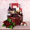 Romantic Picnic For 2 Gift Basket, wine gift baskets, gourmet gift baskets, Valentine's Day gifts, gift baskets, romance