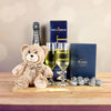 Champagne For 2 Gift Basket, champagne gift baskets, gourmet gift baskets, Valentine's Day gifts, gift baskets, romance