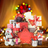Christmas Sled Gift Basket