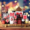 Ultimate Christmas Wine & Chocolate Gift Basket