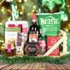 Holiday Sleigh Wine & Treats Basket