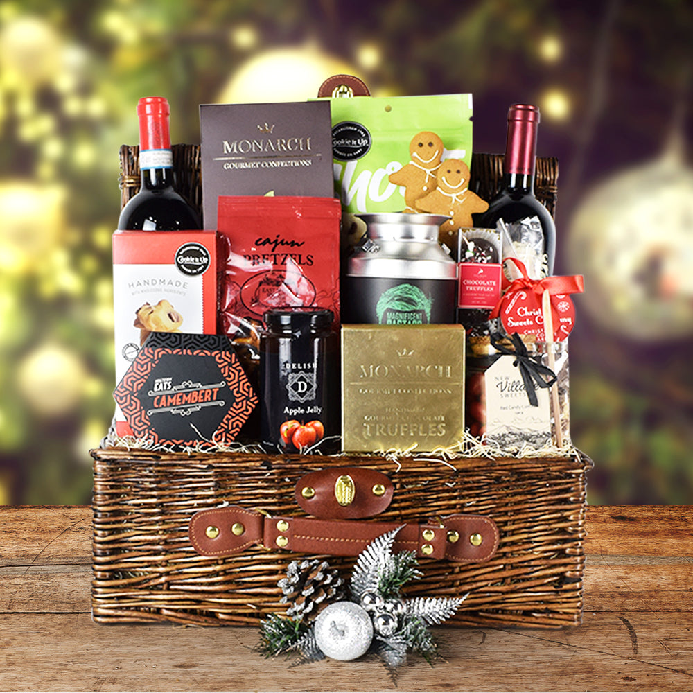 10 christmas gift baskets and holiday gift baskets that will blow your loved ones away. 10 Ultimate Christmas gift basket ideas that will touch the hearts of your loved ones. Looking for the best christmas gift baskets for your boyfriend, husband, parents, siblings, co-workers, friends, children, and more? These 10 awesome Christmas gift baskets are all you need to bring joy to your loves ones this christmas holiday season #christmasgiftbaskets #christmasgifts #giftbaskets #christmasgiftbasketideas #giftbasketideas #gifts #giftideas #holidaygifts #christmasbaskets #christmaspresents