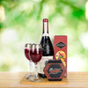 Artisan Crackers & Cheese Wine Gift Basket, wine gift baskets, gourmet gift baskets, gift baskets