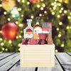 Deluxe Christmas Liquor Crate, liquor gift baskets, Christmas gift baskets, gourmet gift baskets