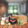 Good Time Treasure Gift Box, gift baskets, gourmet gifts, gifts, liquor