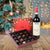 Holiday Wine & Chocolate Gift Basket